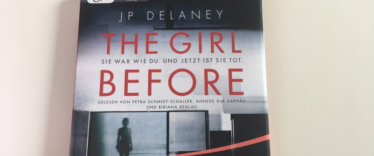 "cover ""The girl before"""