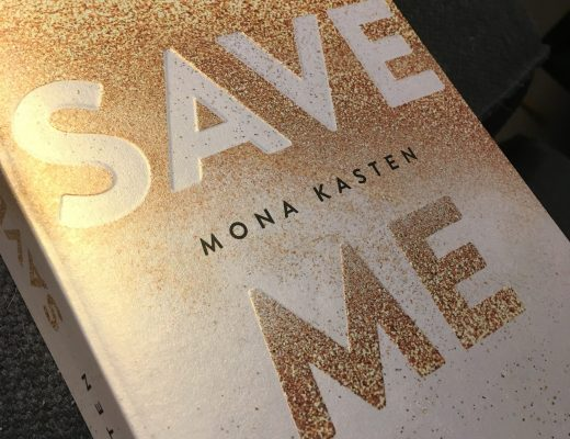 "Buchcover ""Save me"""