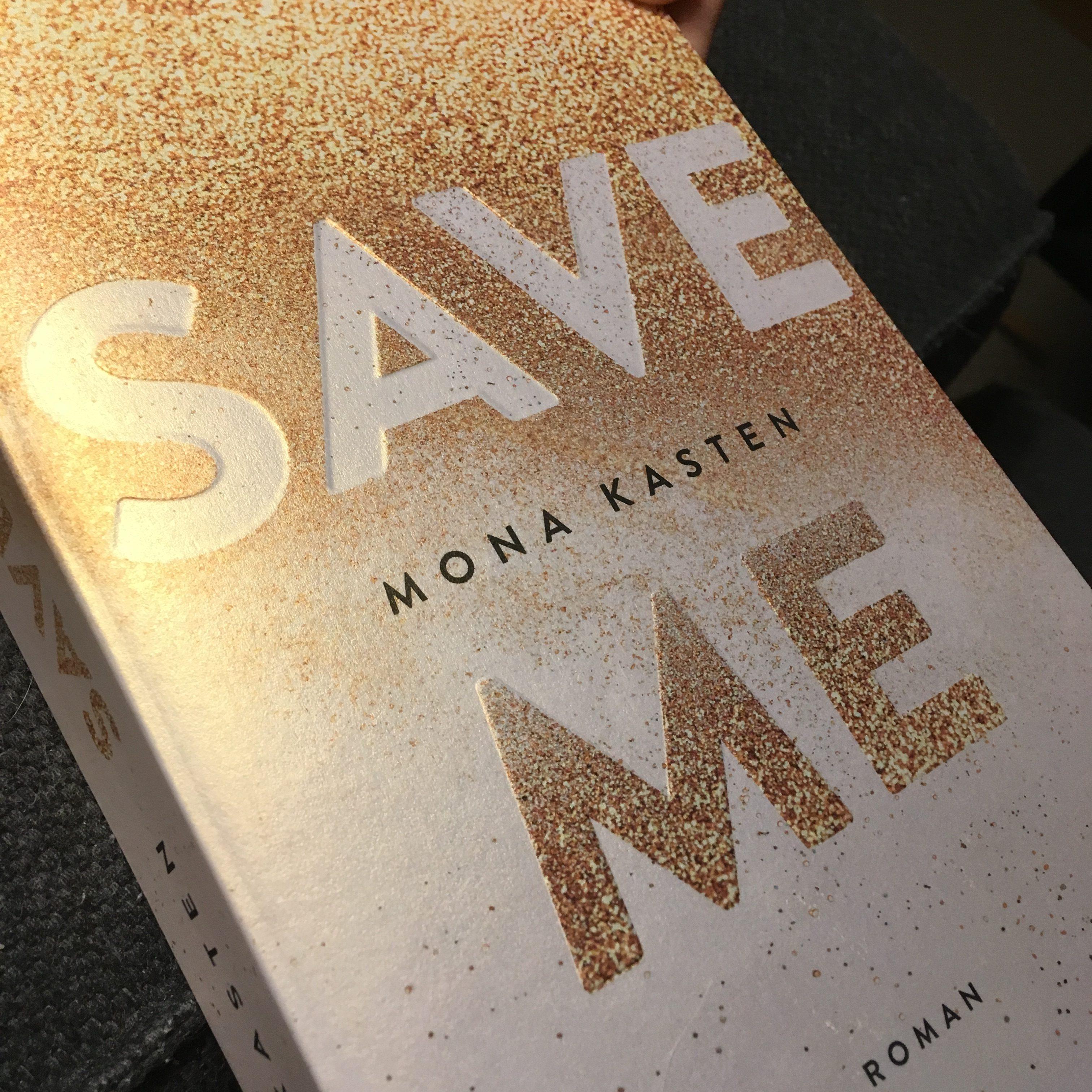 "Buchcover ""Save me"""