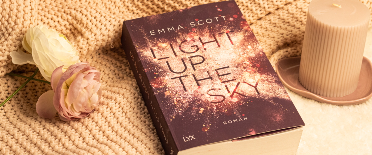 Cover Light up the Sky von Emma Scott
