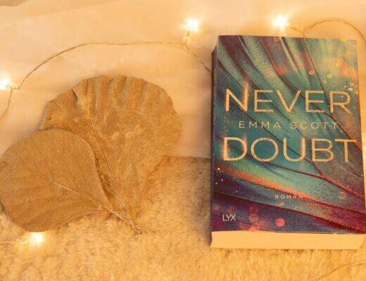 """Buchcover """"Never Doubt"""" von Emma Scott"""